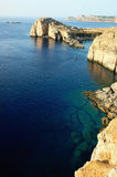береговая линия Стоковое фото RF