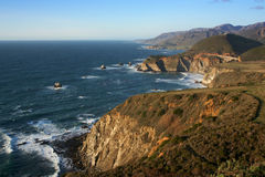 береговая линия california Стоковые Изображения RF