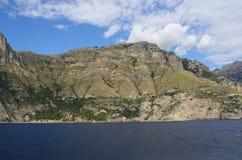 Береговая линия Campania, Италия Стоковое Изображение RF