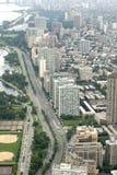 береговая линия chicago Стоковые Изображения