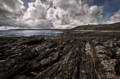 береговая линия cornwall сценарный стоковое изображение rf