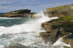 береговая линия cornwall стоковое изображение rf