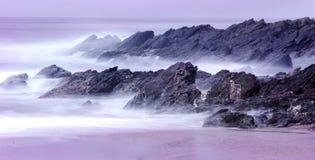 береговая линия cornwall стоковое фото