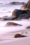 береговая линия cornwall стоковая фотография