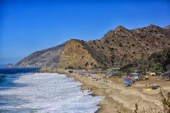Береговая линия Malibu Стоковые Изображения