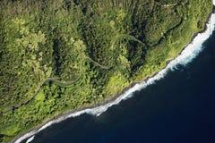 береговая линия maui стоковое изображение rf