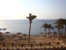 Береговая линия Sharm El-Sheikh, Египта стоковые фото