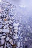 берег восточного озера kazakhstan утесистый Стоковое Изображение RF