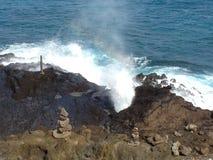 Берег Гаваи восточный Стоковые Фотографии RF