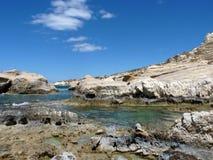 берег каменистый Стоковое Изображение