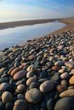 берег камушка Стоковое фото RF