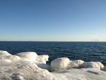 берег льда Стоковые Изображения RF