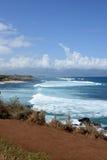 Берег Мауи Стоковое Изображение