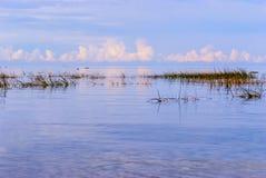 Берег моря, пустой залив Стоковая Фотография