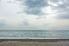Берег моря стоковое изображение