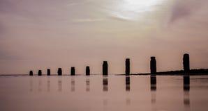 Берег моря Frinton Стоковое фото RF