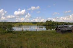 берег озера бани малый Стоковые Изображения