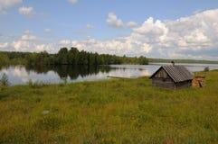 берег озера бани малый Стоковая Фотография