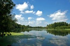 Берег 2 озера лет Стоковая Фотография