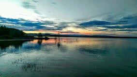 Берег озера стоковое изображение