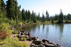 берег озера callaghan Стоковая Фотография