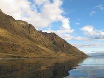 берег озера hawea Стоковое фото RF