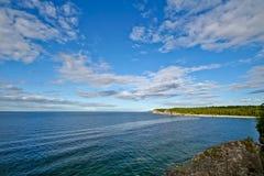 берег озера huron Стоковое Изображение RF