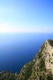 берег острова рыболовства capri шлюпок Стоковые Изображения