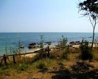 Берег открытого моря Стоковые Фотографии RF