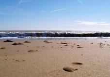 берег пляжа Стоковое Фото