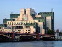 Берег реки в Лондон Стоковые Изображения