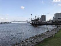 Берег реки Нового Орлеана стоковые фото