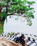 Берег реки Brahmaputra стоковые изображения
