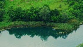 Берег реки Krka Стоковые Фотографии RF