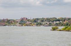 Берег реки Newburgh Стоковые Фотографии RF