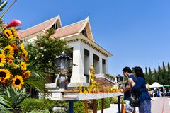 8-26-18 берег реки Wat тайский, Ca стоковая фотография rf