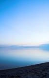 берег ровный Стоковая Фотография