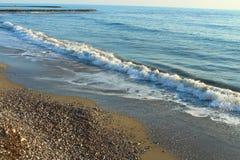 Берег Средиземного моря Стоковое фото RF