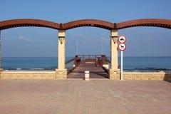 Берег Средиземного моря Стоковые Фотографии RF