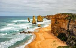 Берег Тихого океана большая дорога океана апостолы 12 Стоковая Фотография RF