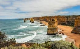 Берег Тихого океана большая дорога океана апостолы 12 Стоковое Фото