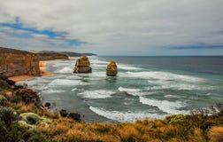 Берег Тихого океана большая дорога океана апостолы 12 Стоковое фото RF