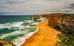 Берег Тихого океана большая дорога океана апостолы 12 Стоковые Фото