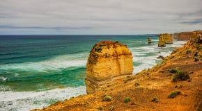 Берег Тихого океана большая дорога океана апостолы 12 Стоковые Изображения RF