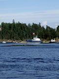 берег шлюпки Стоковые Фотографии RF