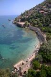 Берег Alanya стоковые фото