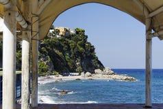 берег capri Стоковые Изображения RF