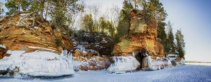 Берег Lake Superior стоковое фото
