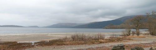 Берег Loch Lomond Стоковое фото RF