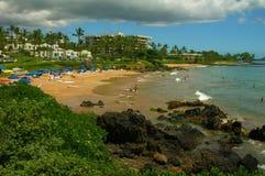 берег maui пляжей южный Стоковые Изображения RF
